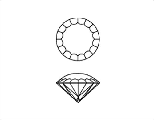 ダイヤモンド研磨工場のスタッフ